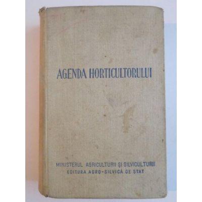 Agenda horticultorului
