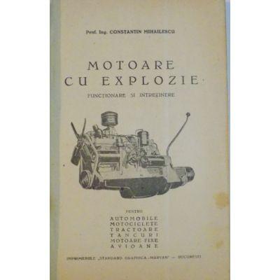 Motoare cu explozie pt automobile, motociclete, tractoare, tancuri, avioane