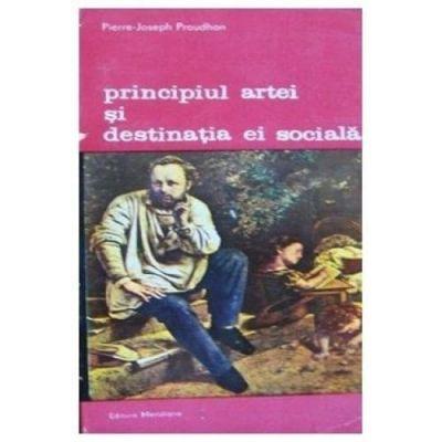 Principiul artei și destinația sa socială