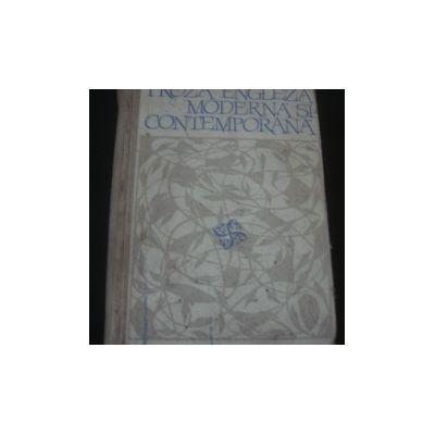 Proză engleză modernă și contemporană