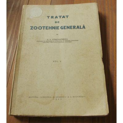 Tratat de zootehnie generală ( Vol. II )