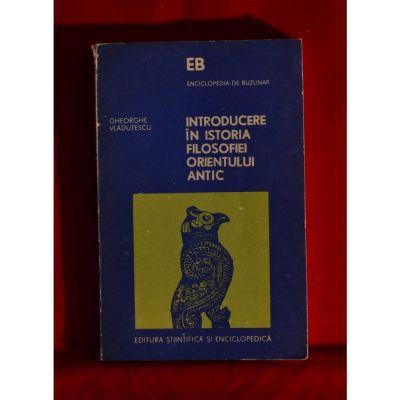 Introducere în istoria filosofiei Orientului antic