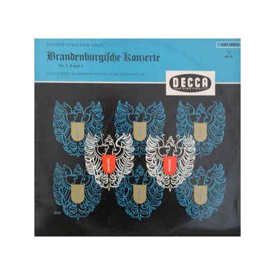 BACH: Brandenburgische Konzerte Nr. 2 / 4 / 5 ( disc vinil )
