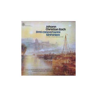 BACH: Drei concertante Sinfonien (vinil )