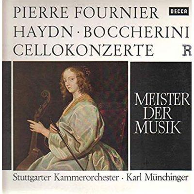 BOCCHERINI / HAYDN: Cellokonzerte ( vinil )