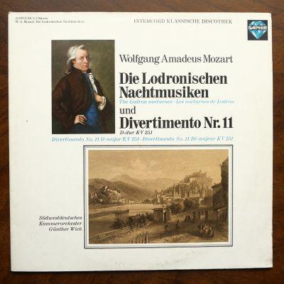 MOZART: Die Lodronischen Nachtmusiken / Divertimento Nr. 11 ( 2 discuri vinil )
