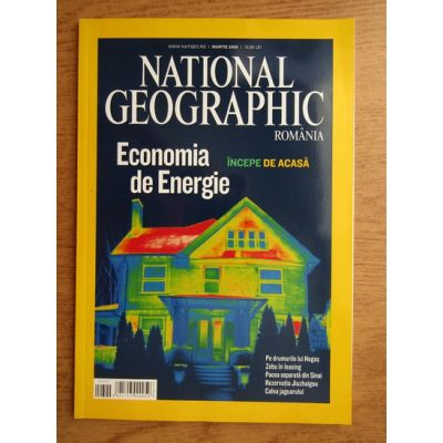 National Geographic - martie 2009
