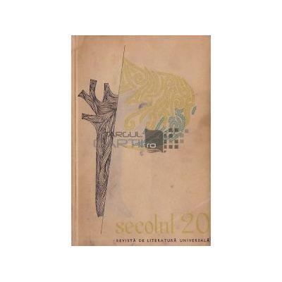 Secolul 20 nr. 3 / 1962