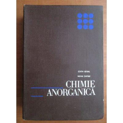 Chimie anorganică