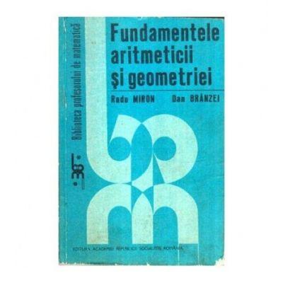 Fundamentele aritmeticii și geometriei