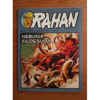 RAHAN nr. 26 / 23 noiembrie 2010 - Nebunia fildeșului
