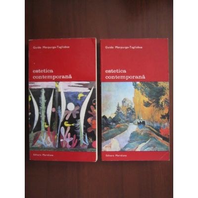 Estetica contemporană ( 2 vol. )