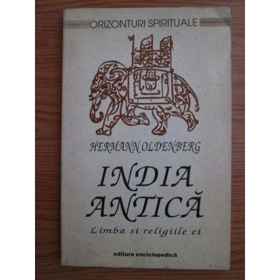 India antică. Limba și religiile ei