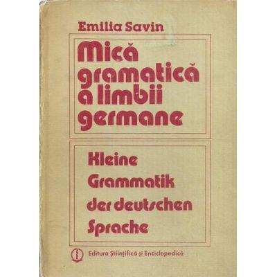 Mică gramatică a limbii germane