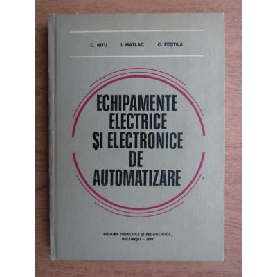 Echipamente electrice și electronice de automatizare