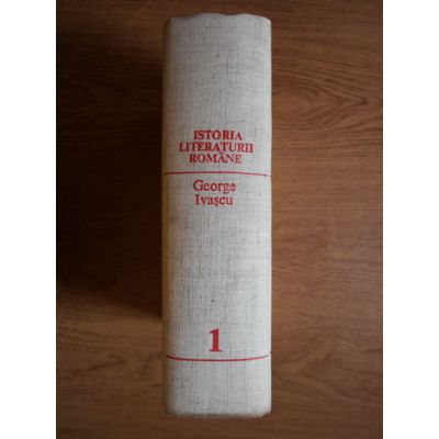 Istoria literaturii române ( vol. I )