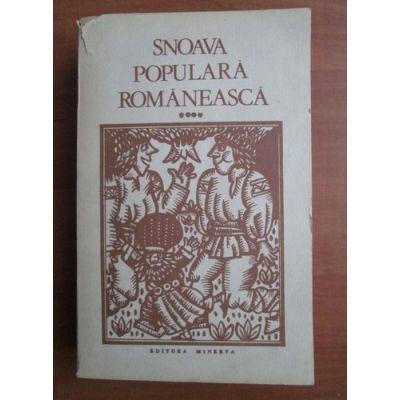 Snoava populară românească ( vol. 4 )