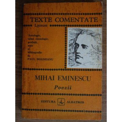 Poezii ( TEXTE COMENTATE )